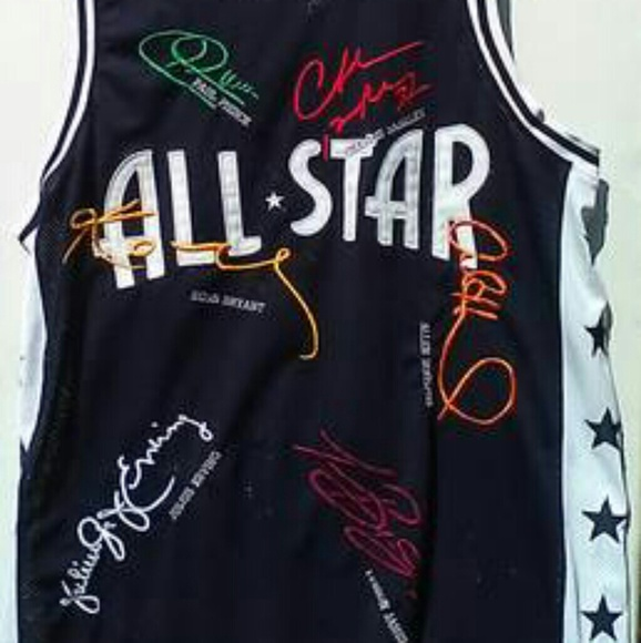 sale retailer f539a 14c7d Signature All-Star NBA Jersey